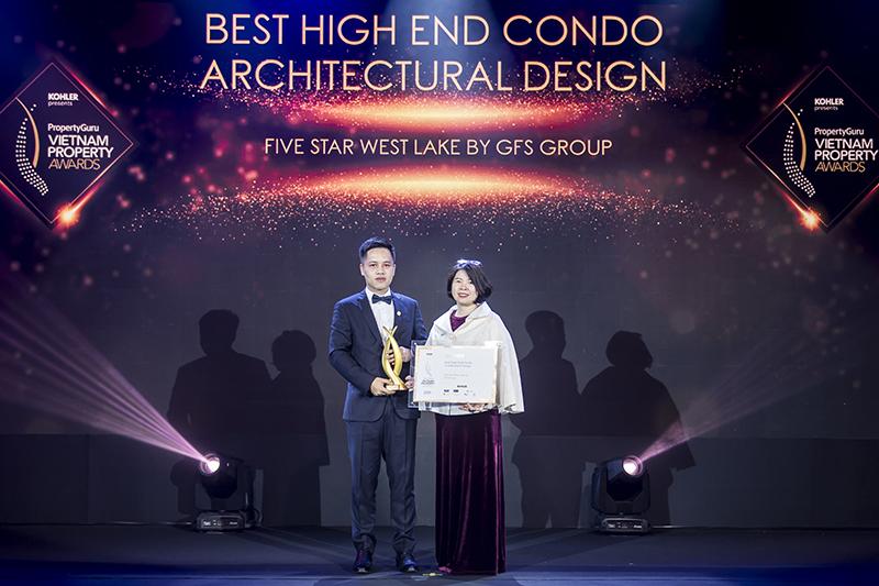 PropertyGuru Vietnam Property Awards 2019: Five Star West Lake – Thiết kế kiến trúc chung cư cao cấp tốt nhất