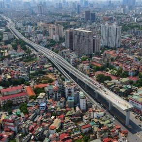 Ba dự án giao thông ở thủ đô sắp khánh thành