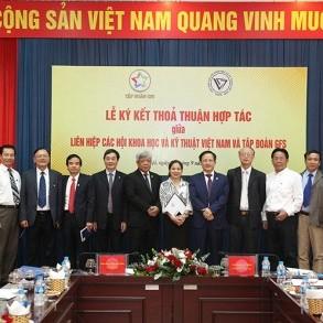 Tập đoàn GFS và Liên hiệp các Hội Khoa học và Kỹ thuật Việt Nam ký kết thỏa thuận hợp tác, phát triển công nghiệp xây dựng