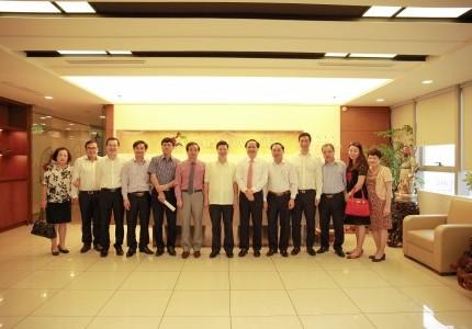 GFS họp với ban nông thôn mới Quảng Ninh