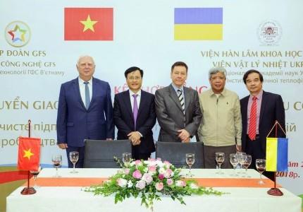 VTV1 - Lễ ký kết hợp đồng chuyển giao công nghệ sản xuất phân bón hữu cơ