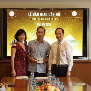 Golfer Ngô Văn Dũng nhận bàn giao căn hộ hơn 3 tỷ đồng từ GFS