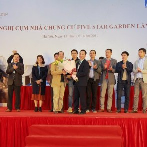 Tổ chức thành công Hội nghị Cụm nhà chung cư Five Star Garden