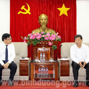 Chủ tịch UBND tỉnh Trần Thanh Liêm tiếp lãnh đạo Tập đoàn GFS