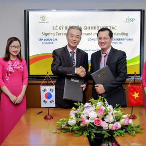 Tập đoàn GFS ký kết hợp tác với Công ty Viko Energy – Hàn Quốc