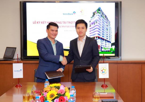 Tập đoàn GFS và Vietinbank ký kết hợp đồng tài trợ tín dụng dự án Five Star West Lake