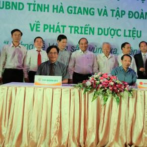 Tập đoàn GFS ký thỏa thuận hợp tác phát triển Dược liệu với tỉnh Hà Giang